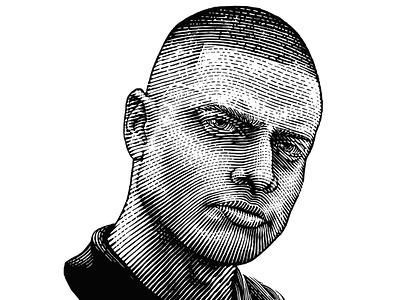 Portrait Lil Supa vector handdraw engraving engraved scratchboard illustraion portrait illustration portrait art portrait