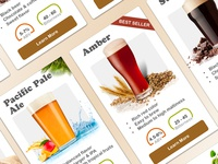 Craft Beer Product Cards