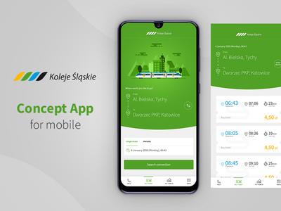 Koleje Śląskie - Concept App