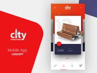 City Furniture - Mobile App Concept