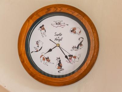 Samto & Nougat Clock