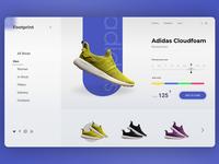 Adidas E-Commerce Concept