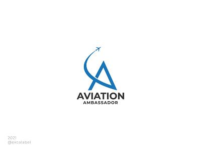 Aviation Ambassador ambassador aviation ui vector brand guide branding icon brand identity brand logo design