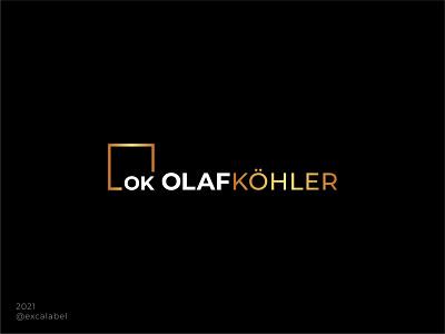 Olaf Kohler hairstylist hair vector ui brand identity branding design brand guide icon brand logo