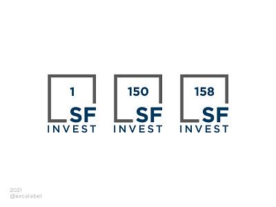 SF invest logo type type invest vector brand guide brand brand identity branding design icon logo