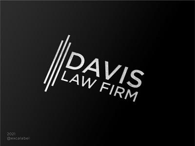 Davis Law Firm firm law ui vector brand brand guide brand identity design branding logo icon