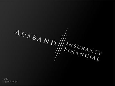 Ausband financial insurance agency vector brand identity branding design icon brand logo