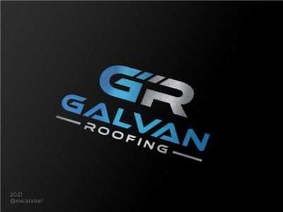 galvanroofingtx.com roofing roof vector brand brand guide brand identity branding design icon logo