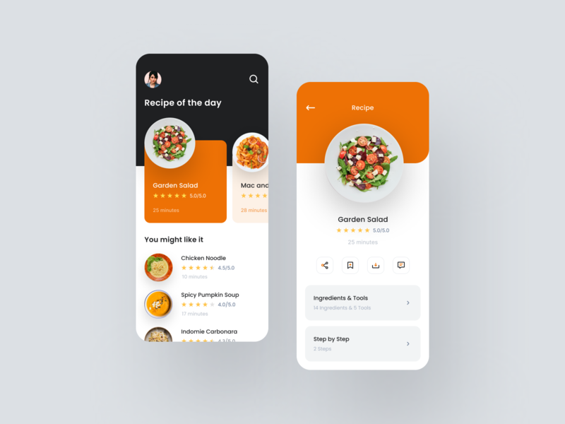 Recipe App Exploration