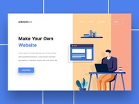 Make Your Own Website - Landing Page
