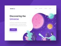 Universe Landing Page Exploration