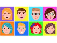 Vectorial Faces