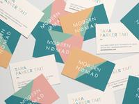 Mondern Nomad Business Cards