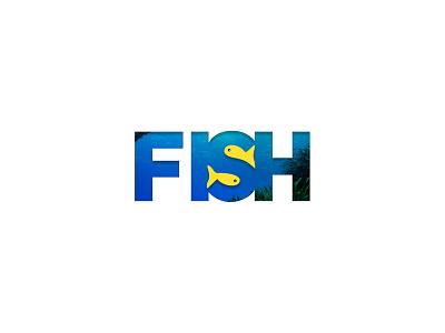Fish fish logo identity icon graphic design calligraphy branding