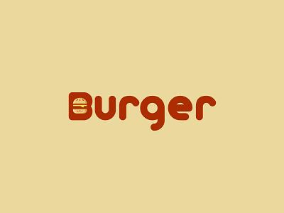 Burger burger food logo logo identity icon graphic design calligraphy branding
