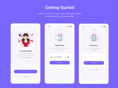 Getting Started-Mobile app
