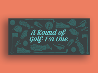 Golf Round Certificate