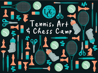 Tennis Chess Art Camp