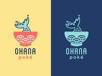 Logo Concept - Poke Restaurant