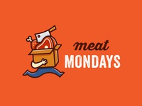 Logo Concept - Meat subscription company