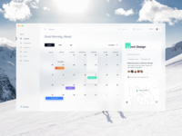 BlueBlue - Calendar Dashboard