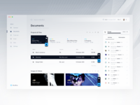 Files & Documents Dashboard - BlueBlue