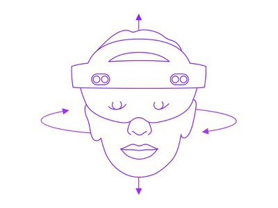 Hololens 2 Head Rotation aucta face portrait device illustration technical mixed virtual leap magic hololens reality augmented