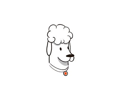 Doggo illustration handdrawn dog procreate doodle poodle