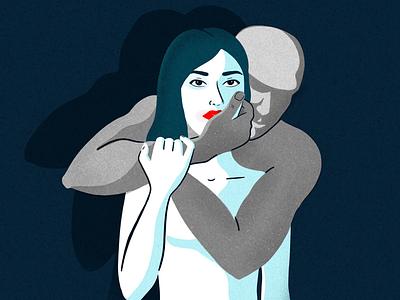 Violence against women poster illustration billboard poster social poster women violence against women violence