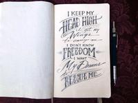 Lettering Lyrics, J. Cole - Apparently