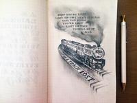 Lettering Lyrics, Frank Ocean - Lost