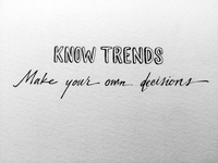 Know Trends