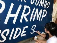 Sign Painting - Brush Script