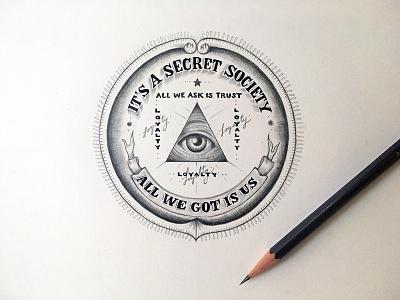 Lettering Lyrics, Kendrick Lamar - LOYALTY FEAT RIHANNA trust script eye secret society money ink graphite rihanna kendrick lamar typography serif lettering