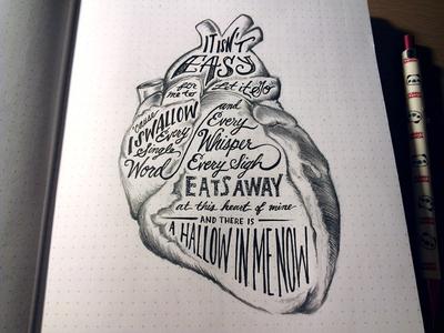 Lettering Lyrics, Calvin Harris ft. Florence Welch pt. 3