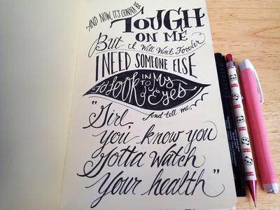 Lettering Lyrics, Grimes