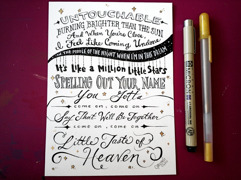 Taylor Swift Song Lyrics Drawings Lettering Lyric...