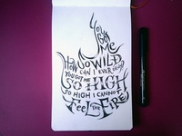 Lettering Lyrics, Nero & Skrillex