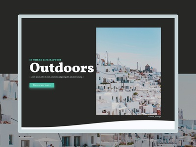 OUTDOORS - Ui & Dev