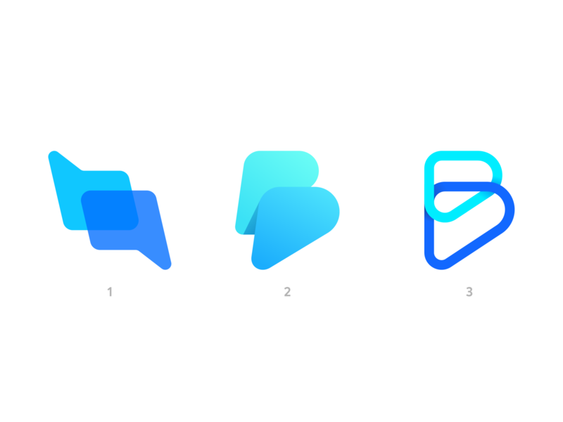 BotPromo Logo Concepts branding brand identity icon colors gradient social talk communication message chat botchat chatbot promo bot conversation