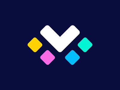 TMT Monogram combination tmt t m negative space icon symbol mark branding identity logo logodesign monogram colors branding