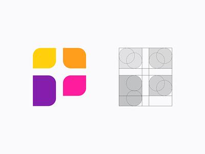 Letter P + Capture Logo Design icon creative app lens camera photo photography colors exploration p mark symbol logo logo design brand identity identity branding brand capture