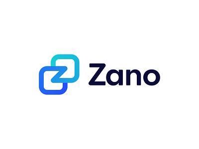 Zano - Logo Concept 1 cryptocurrency identity core privacy flexibility transactions development z gradient security coin ecommerce blockchain technology mark symbol logodesign logo brand branding