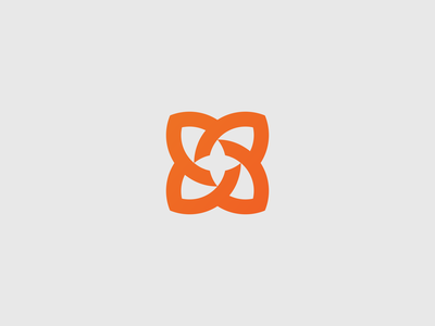 Flower - Logo Design Exploration yellow orange colorful design logo design symbol sale art dribbble icon logo mark idendity branding gradient colors flower
