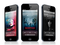Music app user interface