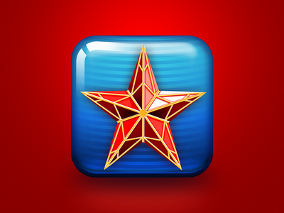Archive: Russian History Videos app icon adobe illustrator vector health apple skeuomorphism ios 5 ios
