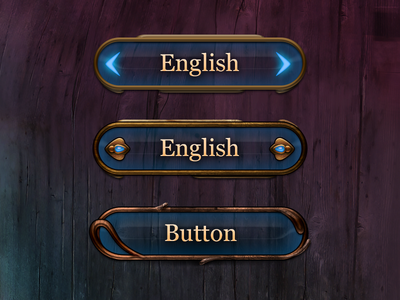 Archive: UI controls evolution buttons arrows ux controls ipad fairy tale fantasy ui ios