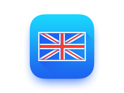 MyEnglish 3 Icon app apple flat ios11 ios7 english learning language