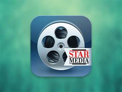 Filmoteka Star Media app icon icon ios iphone ipad movie film app star media