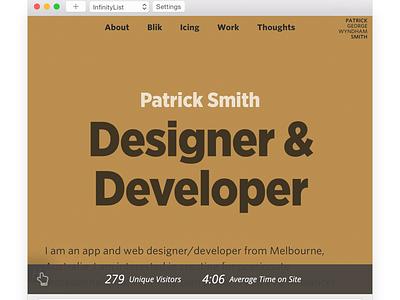 Hoverlytics desktop app